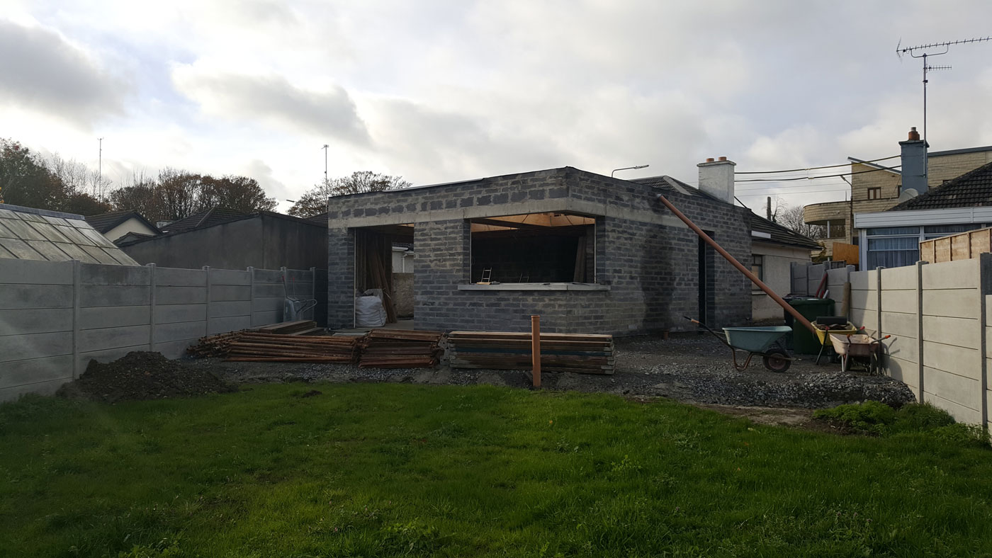 Complete refurbishment and extension in Swords, Co. Dublin