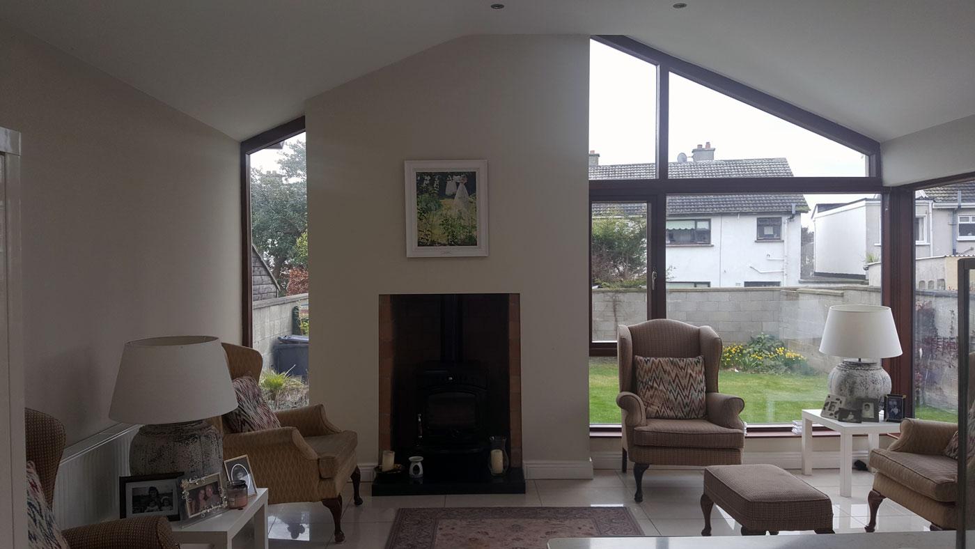 Rear garden living in Portmarnock